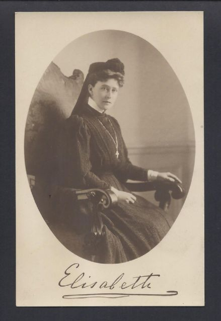 Grand Duchess Elisabeth (Ella) Romanov of Russia - Antique Photographic Postcard